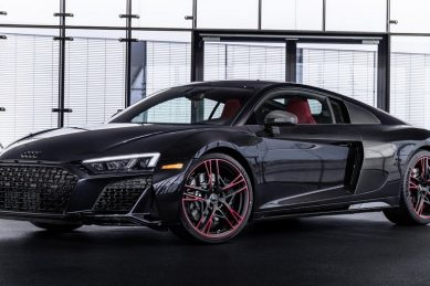 Leaping Panther Audi R8 ready to pounce.. but only on North America