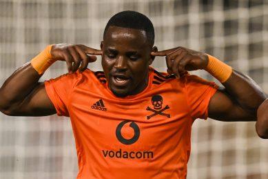 Gabadinho Mhango blow for Orlando Pirates