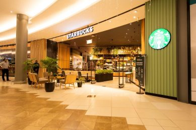 Just up your street, new Starbucks has landed