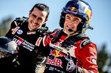 Double delight for SA: De Villiers wins Dakar fifth stage, Baragwanath second