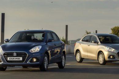 Suzuki DZire unwrinkled with added Electronic Stability Programme