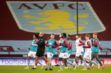 Villa face fixture backlog as virus forces postponement of Everton game