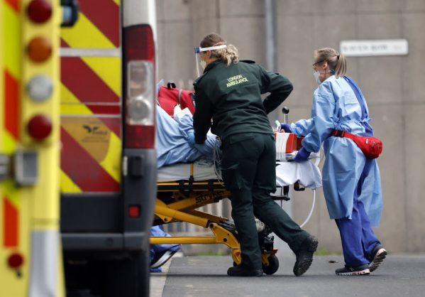 Covid surge leaves UK hospitals like 'war zones', says chief scientist