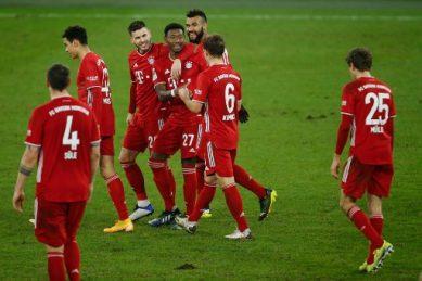 Bayern seven points clear after thrashing sorry Schalke