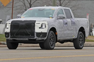 This is it: All-new Ford Ranger spied on test for the first time