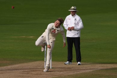 Bess five-for gives England opening day honours in Galle