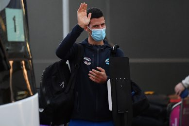 Disarray as 47 Australian Open players affected after positive tests on planes