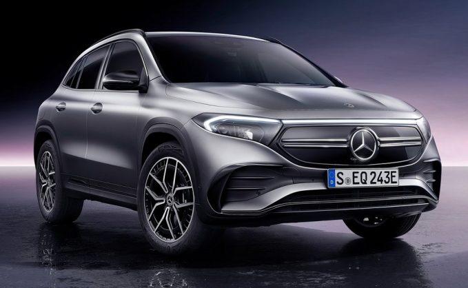 Mercedes-Benz reimagines GLA as all-electric EQA