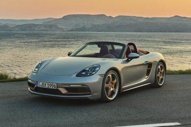 Porsche celebrates 718 Boxster's 25th anniversary with special edition GTS