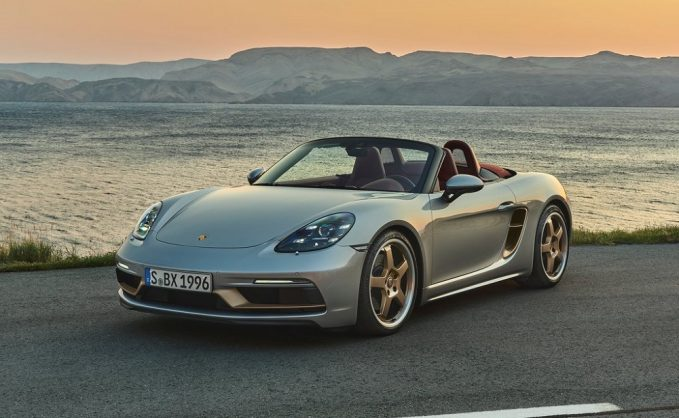 Porsche celebrates 718 Boxster's 25th anniversary with special edition GTS