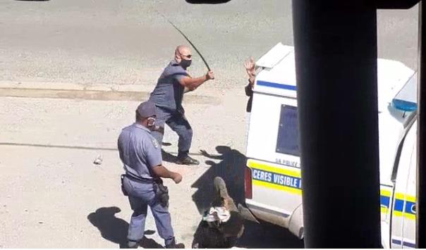 Victims open case against sjambok-wielding Worcester cops