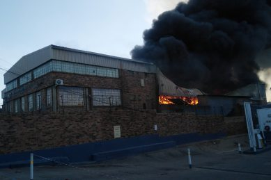 Separate fires destroy 300 shacks in Joburg