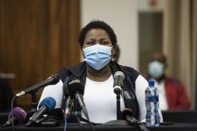 Healthcare workers flood Steve Biko hospital