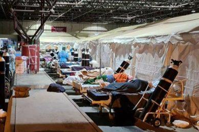 WATCH: Steve Biko hospital battling massive influx of Covid-19 patients