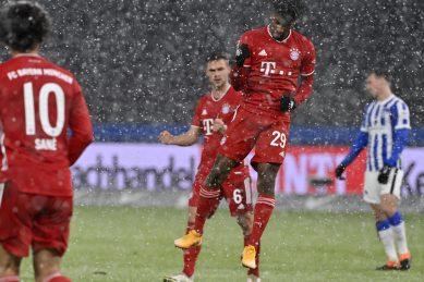 Bayern head for Qatar with 10-point Bundesliga lead after Hertha win