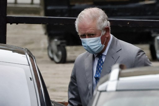 Prince Charles visits father Philip in hospital
