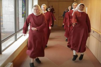 Nimble nuns at cloistered monastery take part in Jerusalema Challenge