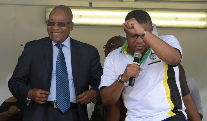 Zuma 'will lose nothing' by going to Zondo commission, says Mbalula