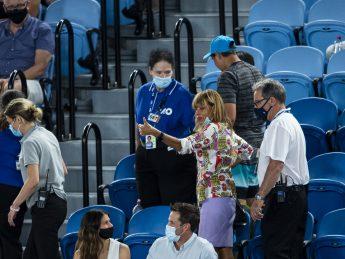 Australian Open fan