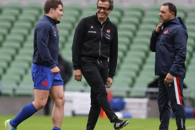 France rugby coach Fabien Galthie tests positive for Covid-19