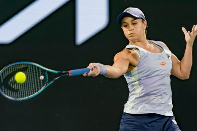 'Not done yet': Barty storms into Australian Open quarters