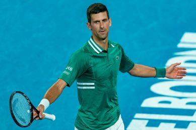 Racquet-smasher Djokovic follows Williams, Osaka into Australian Open semis