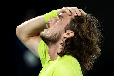 Tsitsipas stuns Nadal in five-set thriller at Australian Open