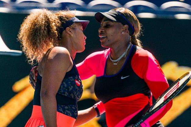 Williams exits in tears as Osaka, Djokovic reach finals