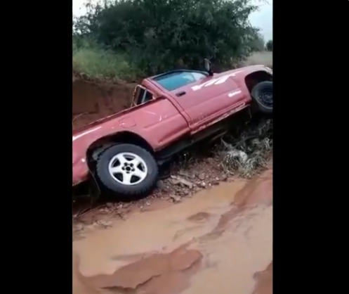 WATCH: Cars swept away, houses flooded in Limpopo