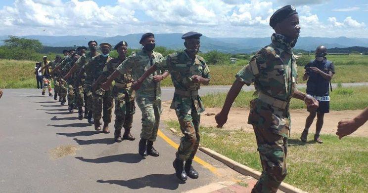 WATCH: Zuma's barmy army denies Cele entry into Nkandla homestead
