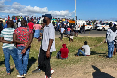 Western Cape police launch manhunt after man gunned down in peak traffic