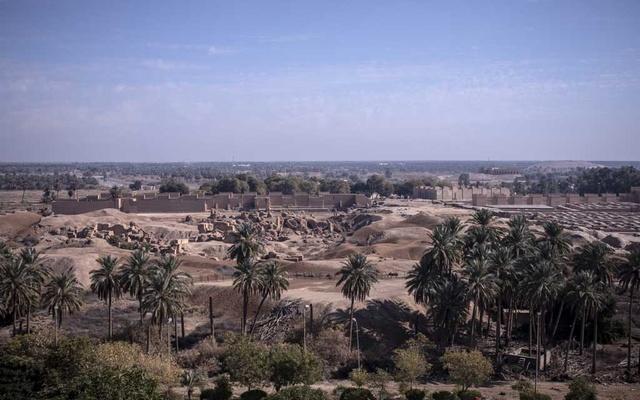 Babylon falling: World Heritage Site