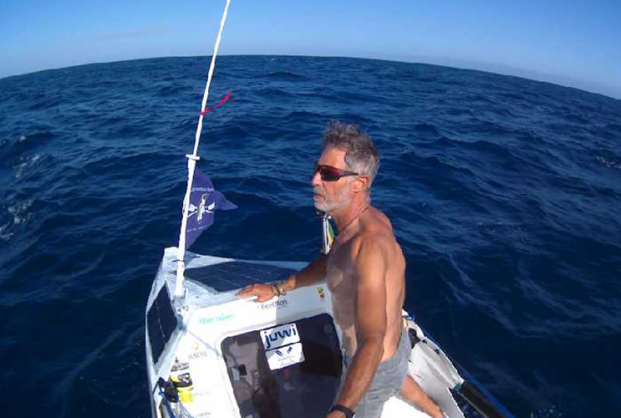 Ex-naval officer expected to reach Rio this weekend after rowing from Cape Town