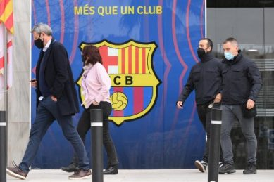 Several arrested during raid at FC Barcelona: police