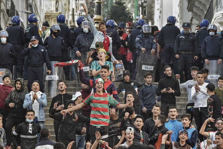ALGERIA-POLITICS-UNREST