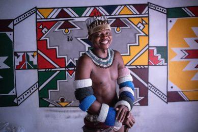 Portrait Ndebele activist Thando Mahlangu KwaMhlanga, Mpumalanga