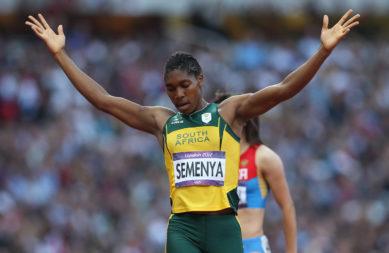 Support for Caster Semenya