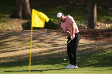 Golfer Scottie Scheffler