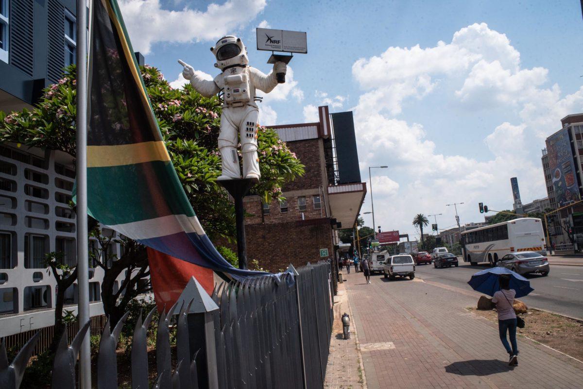 Pretoria astronaut