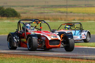 Lotus 7 race car