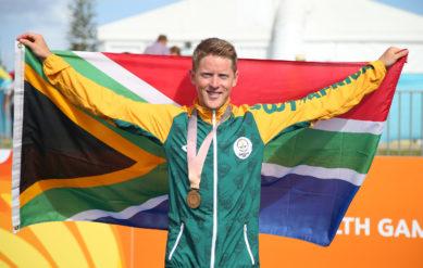 Henri Schoeman Commonwealth Games