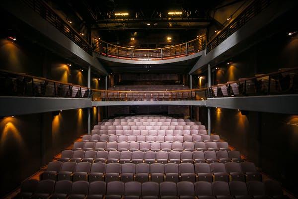 Inside Fugard Theatre's auditorium