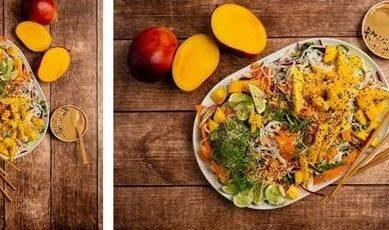 Salad bowl recipe but make it Asian influenced