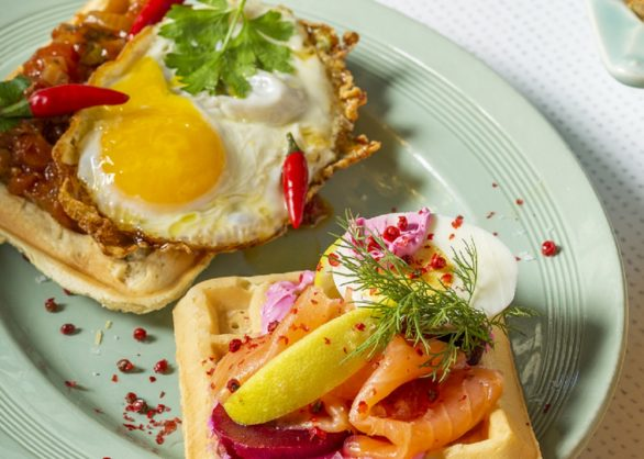 Waffle savoury recipes great for breakfast