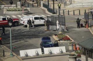 US Capitol on lockdown