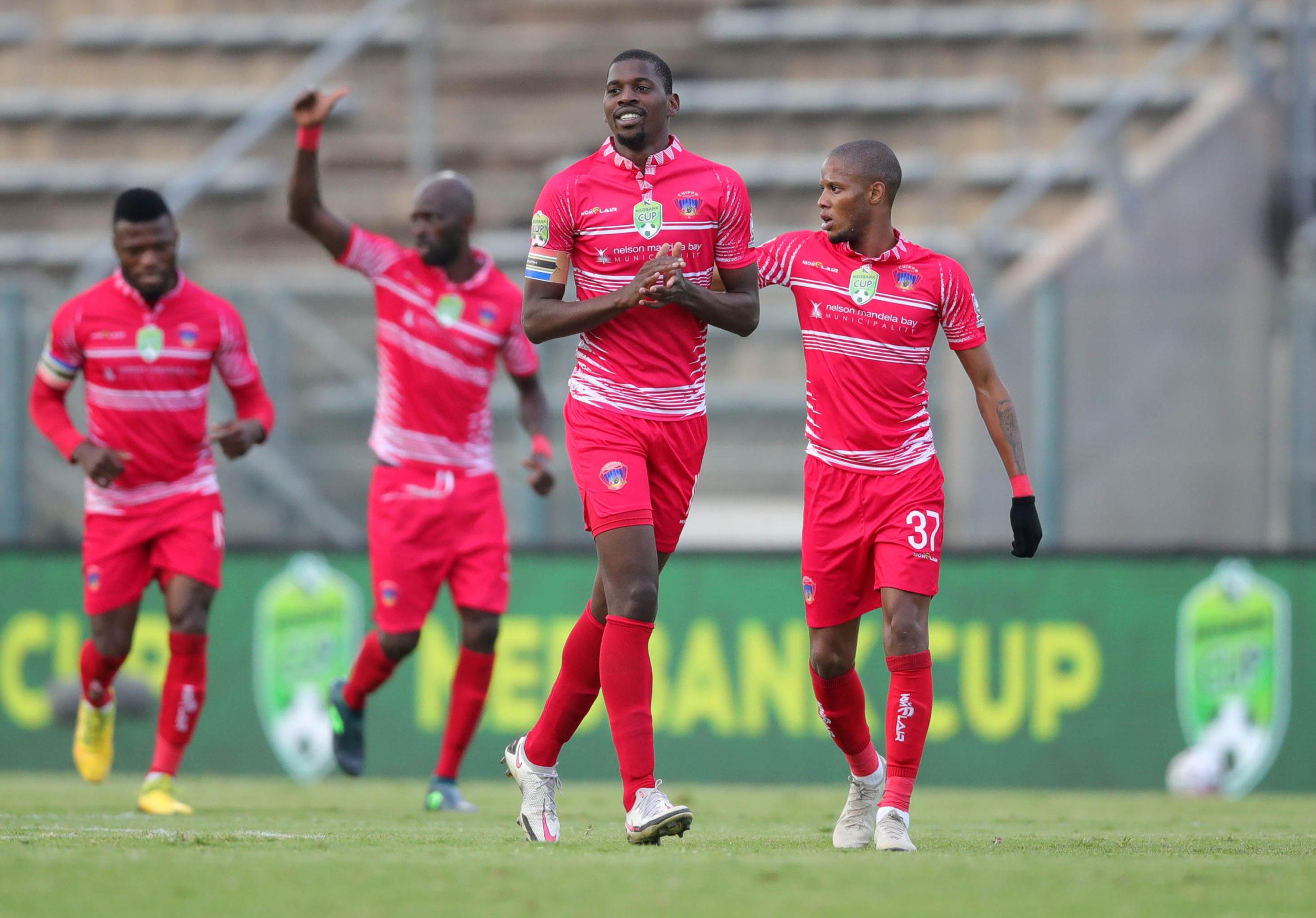 Football - 2021 Nedbank Cup - Semifinal - Pretoria Callies v Chippa United - Lucas Moripe Stadium