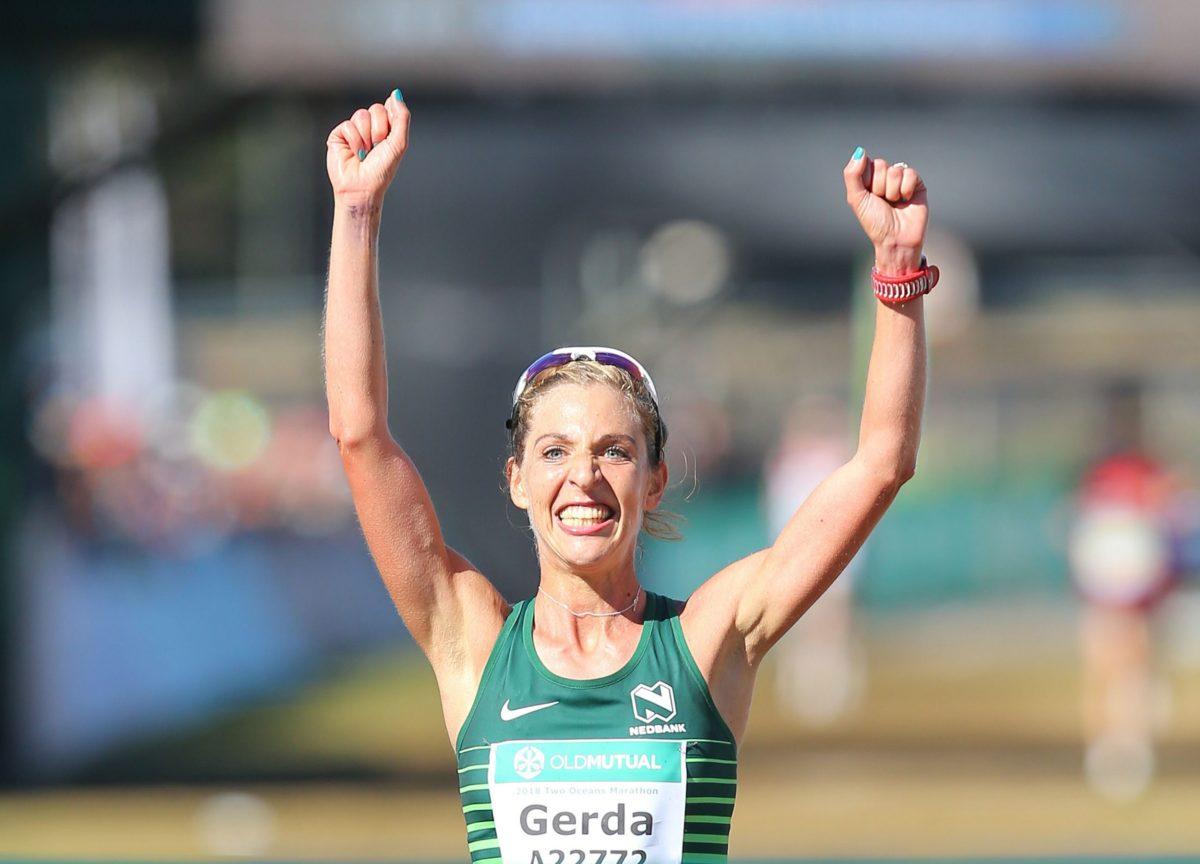 Long-distance runner Gerda Steyn