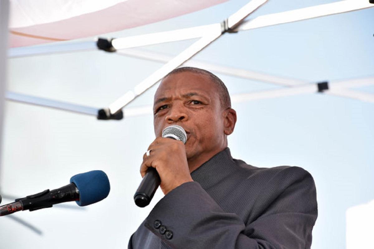 Former North West Premier Supra Mahumapelo
