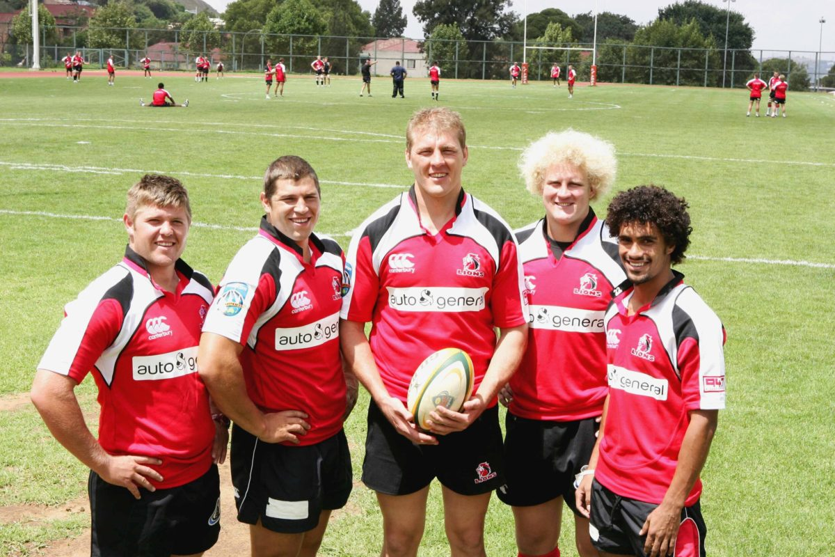 Lions players in 2008