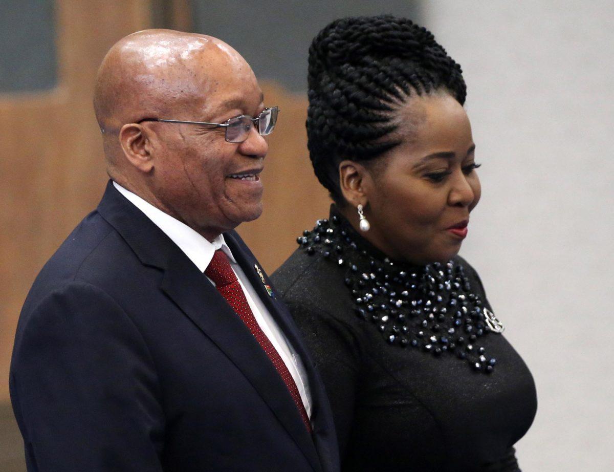Former President, Jacob Zuma's wife Gloria Bongekile Ngema